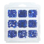 cx29 Glass Beads: Assorted: 3 Packs - Full Colour Range
